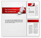 Business Concepts: Rising 3D Arrow Word Template #12580