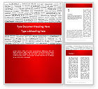 Careers/Industry: Word Cloud For Logistic Distribution Word Template #12592