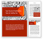 Education & Training: Education Doodles Word Template #12597