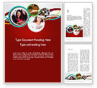 Education & Training: Student Education Word Template #12613