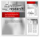 Careers/Industry: Market Research Word Cloud Word Template #12624