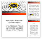 Business Concepts: Business Orientation Word Template #12629