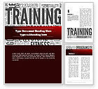 Education & Training: Training Word Cloud Word Template #12630