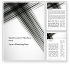 Abstract/Textures: Abstract Intersecting Black Lines Word Template #12632