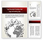 Education & Training: Global Knowledge Word Template #12646