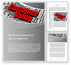 Consulting: Customer Value Word Template #12674