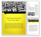 Careers/Industry: 3D Navigation Map Word Template #12692