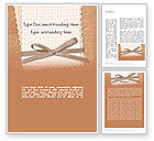 Holiday/Special Occasion: Handmade Card Word Template #12693