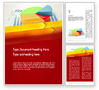 Business Concepts: Three Dimensional Pie Chart Word Template #12696