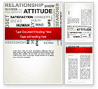 Careers/Industry: Attitude Word Cloud Word Template #12699