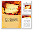 Holiday/Special Occasion: Thanksgiving Card Word Template #12702