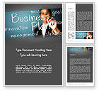 Careers/Industry: Strategic Business Planning Word Template #12703