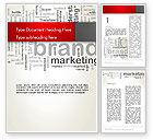 Careers/Industry: Brand Marketing Word Cloud Word Template #12740