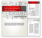Careers/Industry: Brand Marketing Word Cloud Word Template #12740