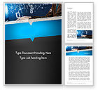 Education & Training: Programming Teaching Word Template #12744