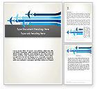 Cars/Transportation: Aerial Transport Word Template #12759