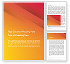 Abstract/Textures: Orange Red Gradient Word Template #12764