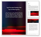 Abstract/Textures: Red Onscherpte Word Template #12768