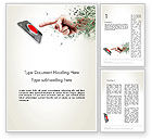 Careers/Industry: Call to Action Button Word Template #12771