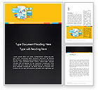 Financial/Accounting: Accounting Icons Word Template #12783
