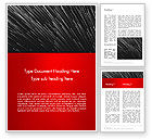 Abstract/Textures: Moving Light Strings Word Template #12789