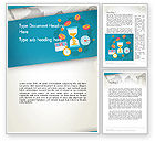 Financial/Accounting: Financial World Word Template #12799