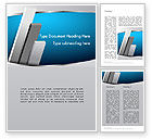Business: Silver Planks Word Template #12816