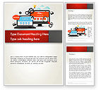 Careers/Industry: Web Design and Site Development Word Template #12818