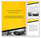 Business Concepts: Wake Up Early Alarm Clock Word Template #12821