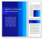 Abstract/Textures: Abstract Blue Vertical Gradient Layers Word Template #12824