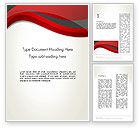 Abstract/Textures: Modello Word - Abstract sfondo rosso e grigio onda #12843
