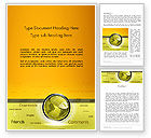 Careers/Industry: Globe with Internet Related Words Word Template #12845