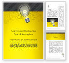 Careers/Industry: Developing Business Idea Word Template #12852