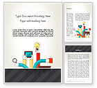 Careers/Industry: Creative Design Process Word Template #12855