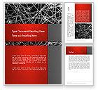 Technology, Science & Computers: Knoten und verbindungen Word Vorlage #12894