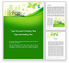 Nature & Environment: Caring for Our Environment Word Template #12899