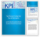 Careers/Industry: KPI Word Cloud Word Template #12913