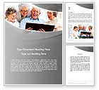 People: Retirement Activities Word Template #12930