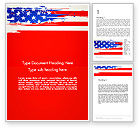 America: United States Flag Theme Word #12931