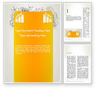 Financial/Accounting: Financial Analisys Concept Word Template #12935