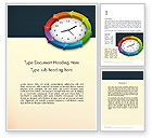 Business Concepts: Around The Clock Process Word Template #12952
