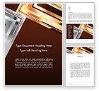 Abstract/Textures: Modèle Word de résumé fond élégant #12955