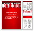 Business Concepts: Development Word Cloud Word Template #12959