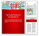 Business Concepts: Key Performance Indicators Word Cloud Word Template #12971