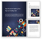 Business Concepts: Office Stationery Word Template #12977