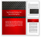 Abstract/Textures: Metal Surface with Vents Word Template #12981