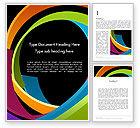 Abstract/Textures: Modelo do Word - abstratos torcido colorido listras #13000