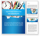 Education & Training: Schools Stationery Word Template #13024