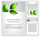 Nature & Environment: Ecological Theme Word Template #13050