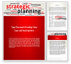 Careers/Industry: Strategic Planning and Management Word Cloud Word Template #13055